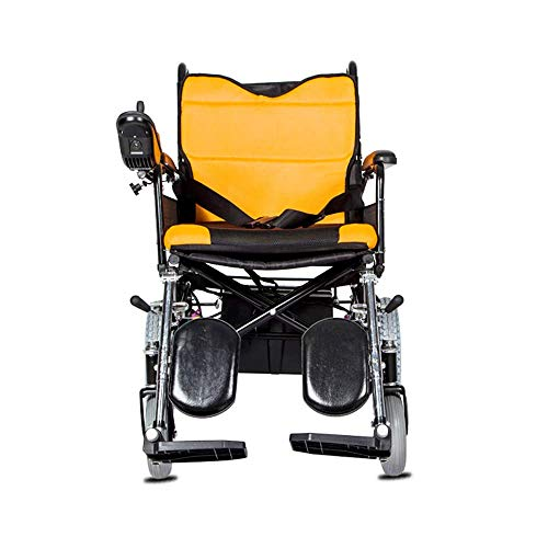 Elektrische leeftijd eenvoudige rolstoel, opvouwbaar, draagbaar onderhoud, vierwielige scooter, ouderen, gehandicapten, elektromagnetische rem, ouderdom, eenvoudige rolstoel, draagvermogen: 100 kg - leeftijd E