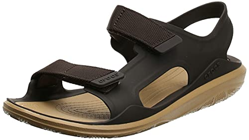 crocs Men's Swiftwater Expedition M Espresso/Tan Sandal-7 UK (M8) (206526)
