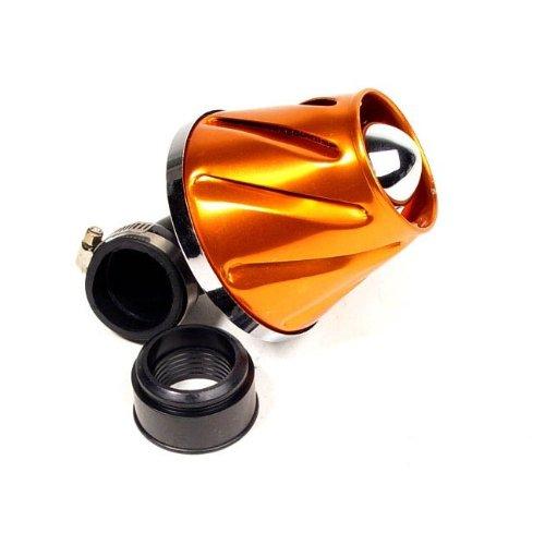 Filtre à air STR8 Helix, Orange anodisé (38/28 mm)