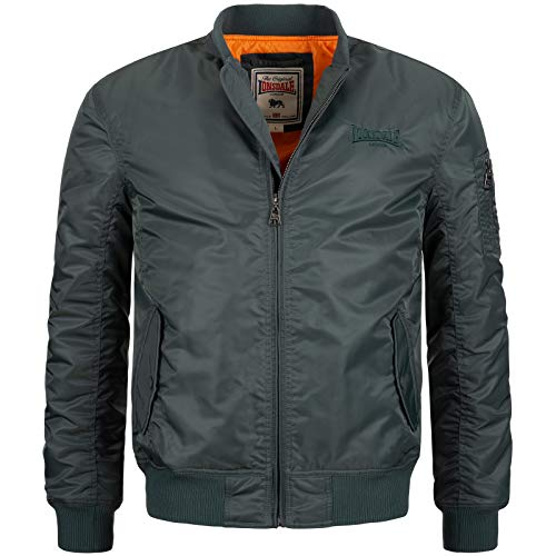 Lonsdale Mens POOLSTOCK Jacket, Olive, Medium