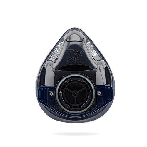 シゲマツ(重松製作所) 防毒マスク・防じんマスク TW01SC ブラック L TW01SC-BK-L