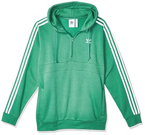 adidas Herren 3-Stripes HZ Sweatshirt, Future Hydro f10, M
