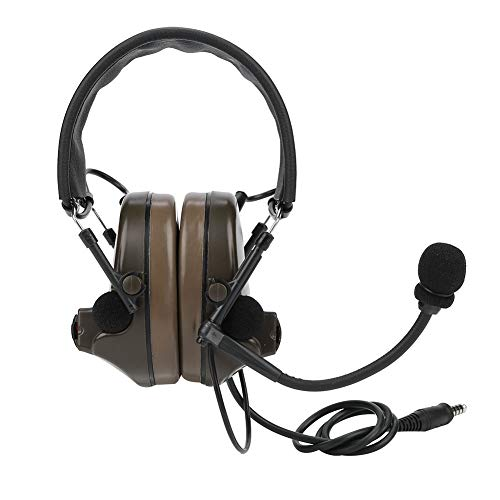 Earphone Headset Adjustable Gaming Headset Folding Microphone Durable Shooting Earmuff Mic Design for Games