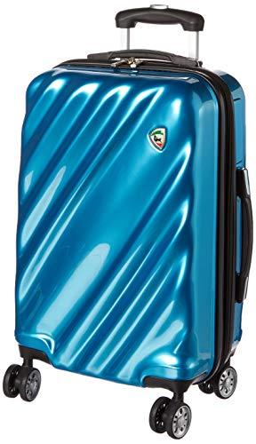 Mia Toro Regale Koffer aus Verbundmaterial, 2 Stück, blau (Blau) - M1008-20in-NN-BLU