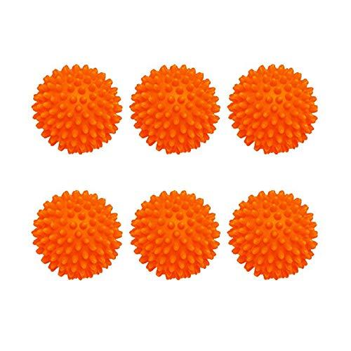 TOPLINK 6 Pieces x Boule de Lavage Balles de sèche-Linge Non fondues - Boule De Lavage Boules de séchage réutilisables pour sèche-Linge