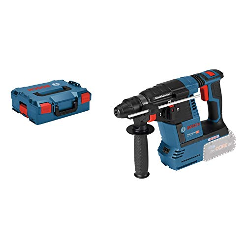 Bosch Professional 611909001 Perforateur Burineur sans-Fil SDS-Plus GBH 18 V-26 L-BOXX sans Batterie sans Chargeur Bleu 1