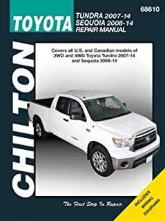 Toyota Tundra and Sequoia 2007-2014 Repair Manual