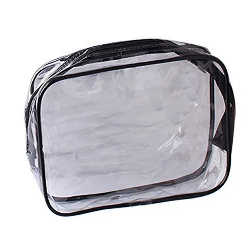 Lorenlli Portable Transparent PVC Femmes Maquillage Cosmétique Sacs Étanche Voyage Utiliser Beauté Trousse De Toilette Organisateur