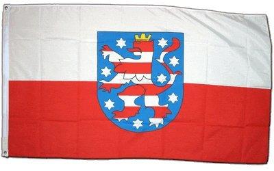Flagge Deutschland Thüringen - 60 x 90 cm