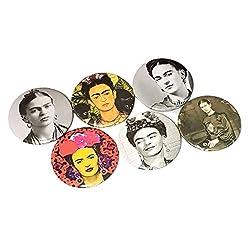 frida kahlo art style gifts ~ fridge magnet