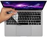 MyGadget Protector Teclado QWERTZ [Alemán] para Apple MacBook Air 13' 2018 - 2020 / Modelo A1932 - Funda Silicona Ultra Delgado - Keyboard Skin Negro