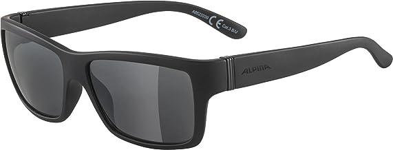 ALPINA Unisex - Volwassenen, KACEY Zonnebril, all black matt, One Size