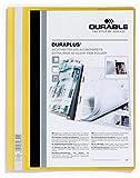 Durable Angebotshefter DURAPLUS®, strapazierfähige Folie, A4+, gelb; Sie erhalten 1 Stück