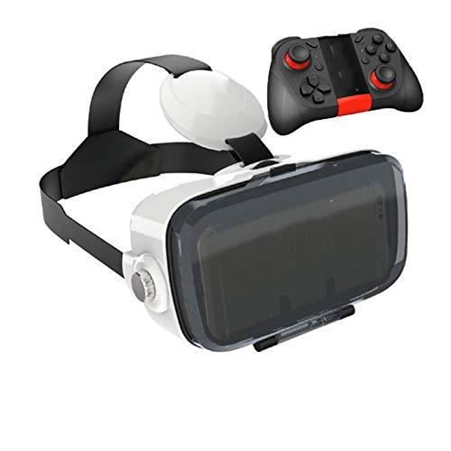 JYMENLING YANJINGYJ VR Gafas, 3D Gafas VR De Realidad Virtual, Gafas De Realidad Virtual, Gafas 3D VR, Auriculares, All-in-One VR Juegos Headset, Visión Panorámico (Color : I)