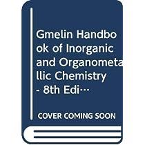 Gmelin Handbook of Inorganic and Organometallic Chemistry - 8th Edition Element U U. Uran. Uranium (System-NR. 55) Supplement A-E Gmelin U.Uran Erg.Bd Part E Coordination Compounds Coordination Compounds