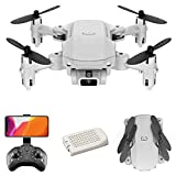 Ajcoflt Mini Drone RC Quadcopter 1080P Camera 13mins Flight Time Flip 6-Axis Gyro