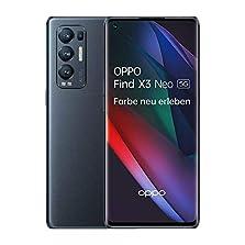 OPPO Find X3 Neo 5G Smartphone, 6,5 Zoll 90 Hz AMOLED Display, 50 MP KI Vierfachkamera, 4.500 mAh mit 65W SuperVOOC 2.0 Schnellladen, 12 GB RAM, inkl. Gutschein [Exklusiv bei Amazon], Starlight Black©Amazon