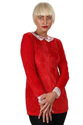Sabrina Spellman - Etiqueta para vestido, talla 42, color rojo