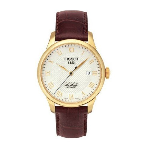 Tissot Le Analog T41541373 - Reloj de Caballero de Cuarzo, Correa de Titanio Color Gris