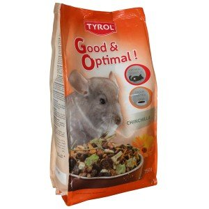 Tyrol - Mix Menu Complet Premium Chinchilla - Mélange Varié Vitamines/Antioxydant