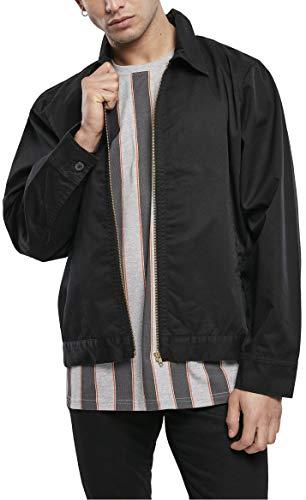 Urban Classics Herren Workwear Jacket Jacke, Black, XL