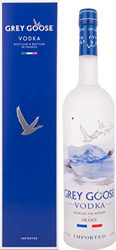 Grey Goose Vodka mit Geschenkverpackung (1 x 1 l)