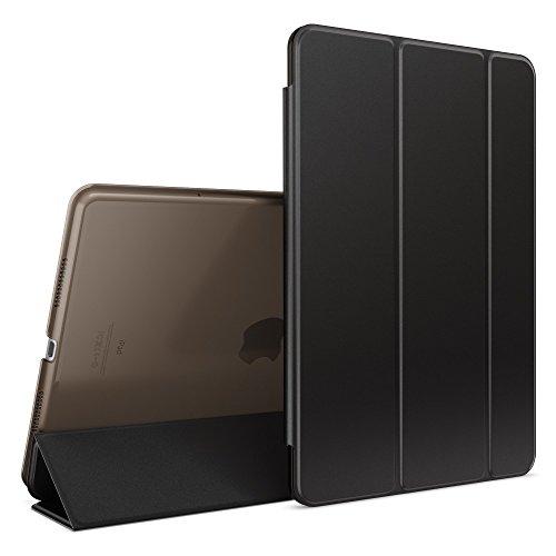 NALIA Cover Custodia per Apple iPad Pro 2016 9,7', Slim Smart-Case Protettiva con Stand-Fold Eco-Pelle Vegan per Fronte & Retro, Tablet Bumper Sleeve Copertura Guscio Protezione Sottile - Nero