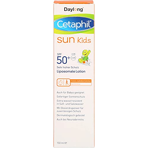 Cetaphil Sun Daylong Kids 50+ liposomale Lotion