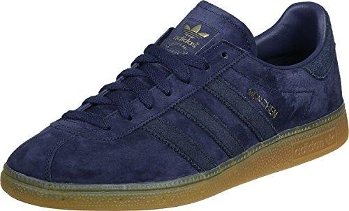 adidas Munchen Dark Blue Navy Gum - 4 UK