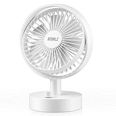 Desk Fan, BZBRLZ Cooling Fan, 10 Speed Adjustab...