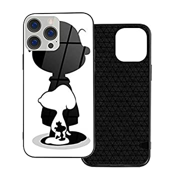 Snoo Py Cartoon Dog iPhone Basic Case for Ip12 Pro-6.1 Anime Manga TPU Soft Tempered Glass Cellphone Shell Dustproof Hard Phone Cover Fans Gifts for Women Child