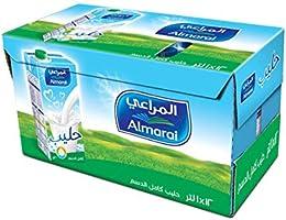Almarai UHT Full Fat Milk With Vitamin In Tetra Pack, 12 x 1 Litre