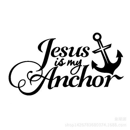 WYFIIIYY Nuevo Jesús es mi Ancla Cheke (Color : 1)