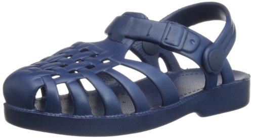 Playshoes Unisex-Kinder Badesandalen Strandschuhe, Blau (Marine 11), 24/25 EU