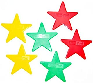 Oncourt Offcourt Star Shapes - Available in Two Sizes