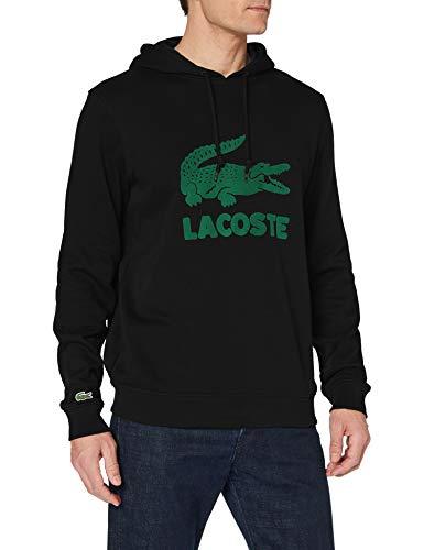 Lacoste Herren Sh2169 Pullover, Black, 2