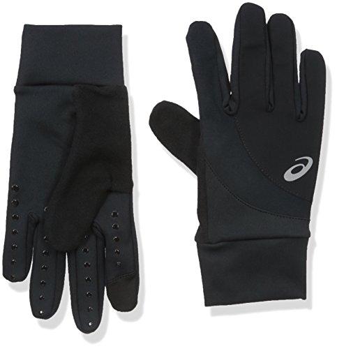 ASICS Windblock Glove, Black, Small/Medium