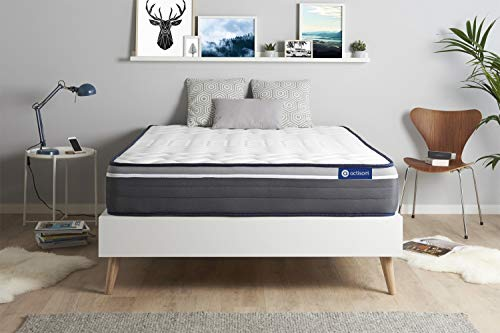 Materasso Actimemo plus 120x210cm, Spessore : 26 cm, Memory foam, Molto rigido, 7 zone di comfort