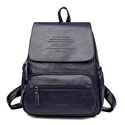 Dames Rugzak Hoge Lederen Dames Tas Grote Capaciteit Rugzakken Reistassen Mode Schooltassen Voor Meisjes
