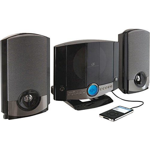 GPX HM3817DTBK Home Music System with Remote and AM/FM Radio (Renewed)
