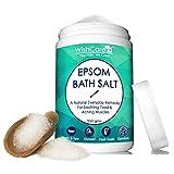 WishCare® Natural & Pure Epsom Bath Salt - 950 Grams - No Added
