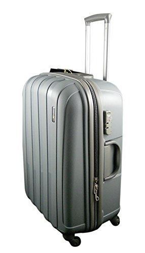 Luggage X 77 centimetre (30') Hard Shell Lightweight Suitcase Grey