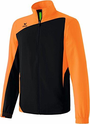 Erima Club 1900 Veste Sportive de présentation, Anzug Club 1900 Präsentationsjacke, Nero (Schwarz/Neon Orange)