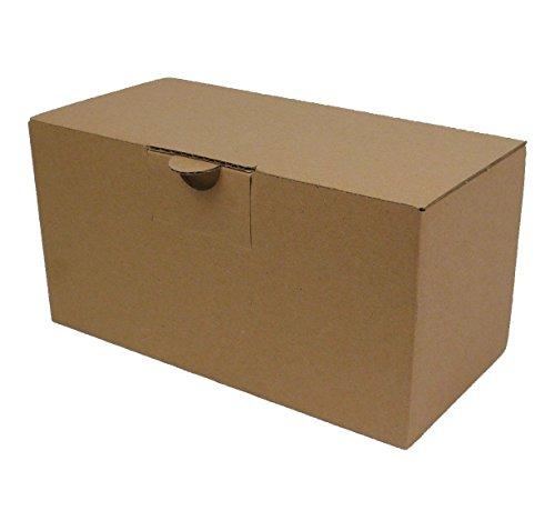 30 Warensendungskartons Aussenmaß: ca. 230 x 118 x 115 mm, Karton Versandkartons Verpackung mit wiederverschließbarem Deckel, Aufbau ohne Klebeband