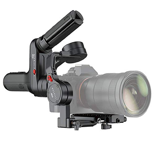 Zhiyun Weebill LAB - Stabilizzatore portatile a 3 assi per fotocamere mirrorless e Sony A7S A7M3 A7R3 A7R2 A7S2 A6500 A6300 A6000, Panasonic GH5 GH5s (confezione standard)