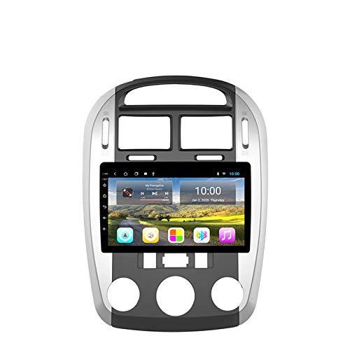 Navegador GPS Estéreo para Coche Android Unidad Principal De Radio para Kia CERATO 2008-2012 Soporte Mirror Link/SWC/Bluetooth/USB/WiFi/Dab/AUX