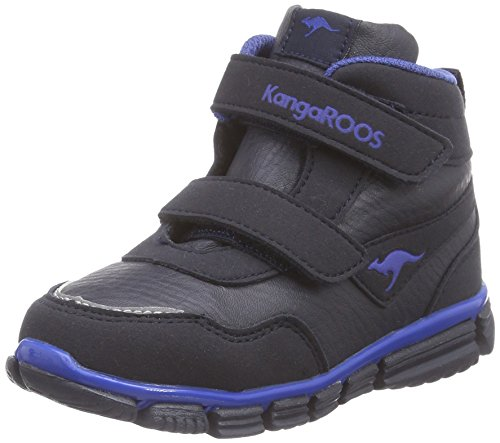 KangaROOS Inlite 3004A V, Baskets premiers pas mixte bébé, Bleu (Dk Navy/Ultramarine 449), 21