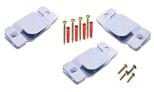 2/x Veneta caravan//statico//mobile//camper fermaporta Fermo cattura Bianco