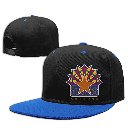 Fashion Children Arizona Flag Phoenix Basketball Team Kid Adjustable Baseball Cap Boys Girls Hip Hop Flat Hat Sun Cap