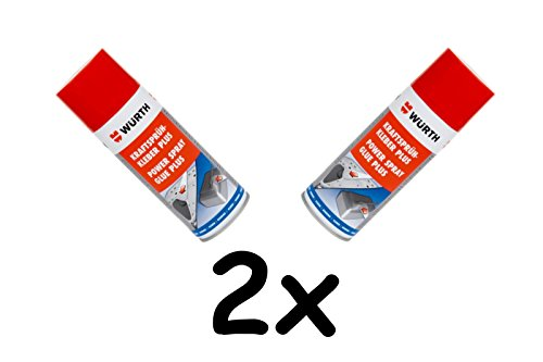 2x Würth Kraftsprühkleber Plus 400ml